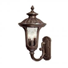 Acclaim Lighting 3851BW - Augusta Collection Wall-Mount 3-Light Outdoor Burled Walnut Light Fixture