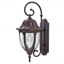 Acclaim Lighting 5061BW - Suffolk Collection Wall-Mount 1-Light Outdoor Burled Walnut Fixture