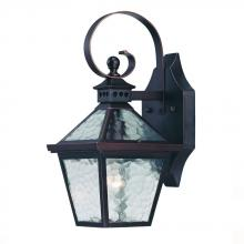 Acclaim Lighting 7652ABZ - Bay Street Collection Wall-Mount 1-Light Outdoor Architectural Bronze Light Fixture