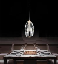 Crystal World 5077P5C-R - 1 Light Chrome Down Mini Pendant from our Perrier collection