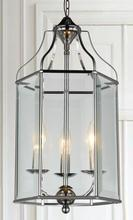 Crystal World 9917P10-3-601 - 3 Light Chrome Up Chandelier from our Maury collection