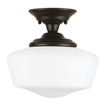 Sea Gull 77436-782 - One Light Semi-Flush Mount