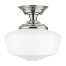 Sea Gull 77437-962 - Large One Light Semi-Flush Mount