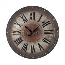 Sterling Industries 128-1005 - Metal Roman Numeral Outdoor Wall Clock.