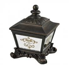 Sterling Industries 87-8003 - Bronze Box With Damask Printed Mirror