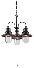 Kenroy Home 93033ORB - Broadcast 3 Lt Outdoor Chand.