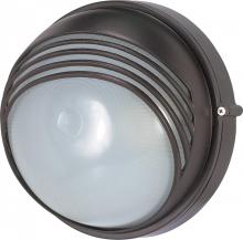 "Nuvo 60/521 - 1 Light 10"" Round Hood Bulk Head"