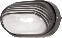"Nuvo 60/523 - 1 Light 10"" Oval Hood Bulk Head"