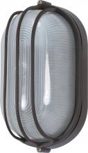 "Nuvo 60/525 - 1 Light 10"" Oval Cage Bulk Head"