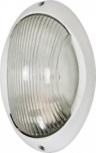 "Nuvo 60/526 - 1 Light 11"" Oval Bulk Head Fixture"