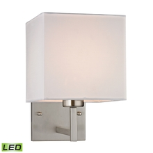ELK Lighting 17160/1-LED - Sconces 1 Light LED Wall Sconce In Brushed Nicke