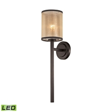 ELK Lighting 57023/1-LED - Diffusion 1 Light LED Wall Sconce In Oil Rubbed