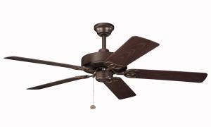 Coastal Lighting & Supply in Chesapeake, Virginia, United States,  9C0W, Tannery Bronze Powder Coat Outdoor Fan, Sterling Manor Patio