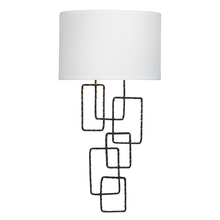 Crystorama 322-RS - Crystorama Lattice 2 Light Raw Steel Sconce
