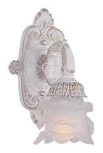 Crystorama 5221-AW - Crystorama Paris Market 1 Light Antique White Sconce II