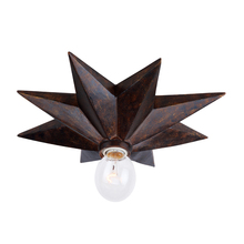 Crystorama 9230-EB - Crystorama Astro 1 Light Bronze Sconce