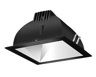 "Coastal Lighting & Supply in Chesapeake, Virginia, United States,  D4N2M, FINISHING SC 6"" SQUARE 2700K LED WALLWASH MATTE CONE BLACK RING, Multiheadrecessed"
