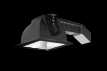 "RAB Lighting RDLED6S20-WYN-M-B - REMODELER 6"" SQUARE 20W 3500K DIM TRIAC WALLWASH MATTE CONE BLACK RING"