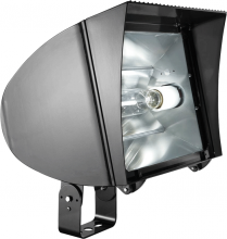 RAB Lighting FXLH350TPSQ/PC - FLEXFLOOD XL 350W MH PSQT HPF PULSE START TRUN + 120V PC BNZ