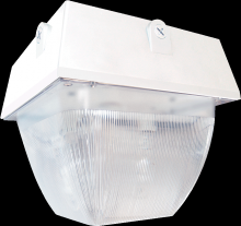 "RAB Lighting VAN5F52QTW - VANDALPROOF 12"" X 12"" CEILING 2 X 26W CFL QT WHITE"