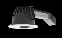 "RAB Lighting RDLED6R26E-50YN-S-W - REMODELER 6"" ROUND 26W 3500K DIM ELV 50 DEGREES SPECULAR CONE WHITE RING"