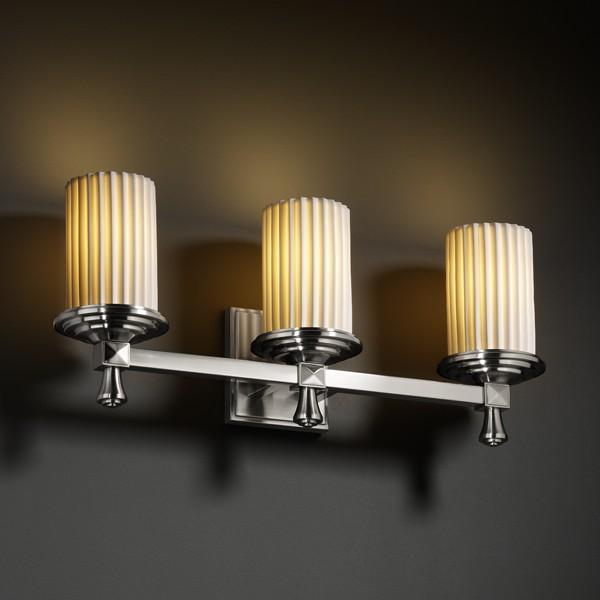 Deco 3-Light Bath Bar : 2J34G | Coastal Lighting & Supply