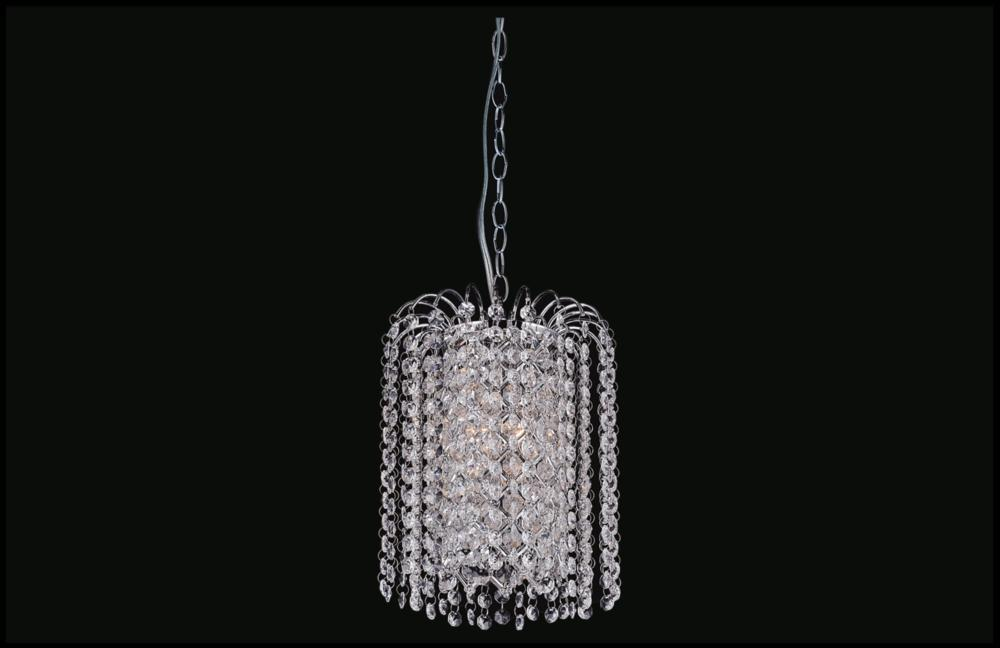 Coastal Lighting & Supply in Chesapeake, Virginia, United States,  3060CMT, 3 Light Chrome Down Mini Chandelier from our Prism collection, Prism