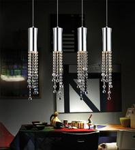 Crystal World 5081P30C-RC - 4 Light Chrome Multi Light Pendant from our Extended collection