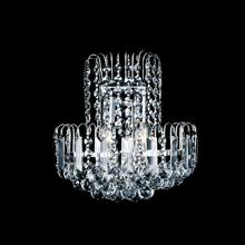 Crystal World 8017W11C - 2 Light Chrome Wall Light from our Prism collection