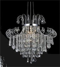 Crystal World 8020P32C - 15 Light Chrome Down Chandelier from our Prism collection