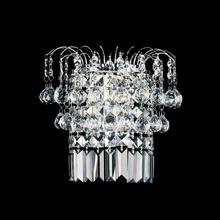 Crystal World 8021W11C - 2 Light Chrome Wall Light from our Prism collection