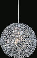 Crystal World QS8351P12C(T) - 1 Light Chrome Mini Chandelier from our Globe collection