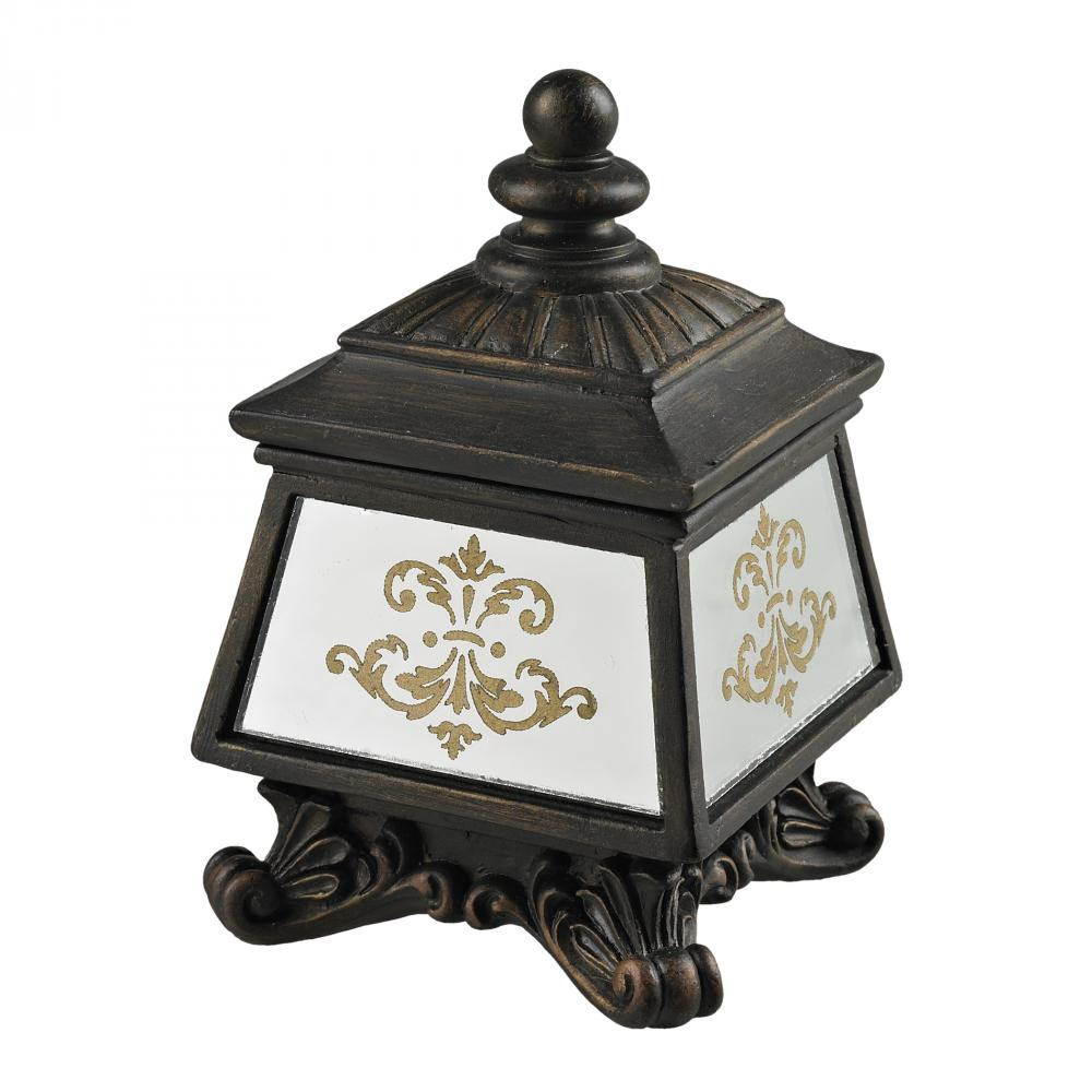 Coastal Lighting & Supply in Chesapeake, Virginia, United States,  40TDE, Bronze Box With Damask Printed Mirror,