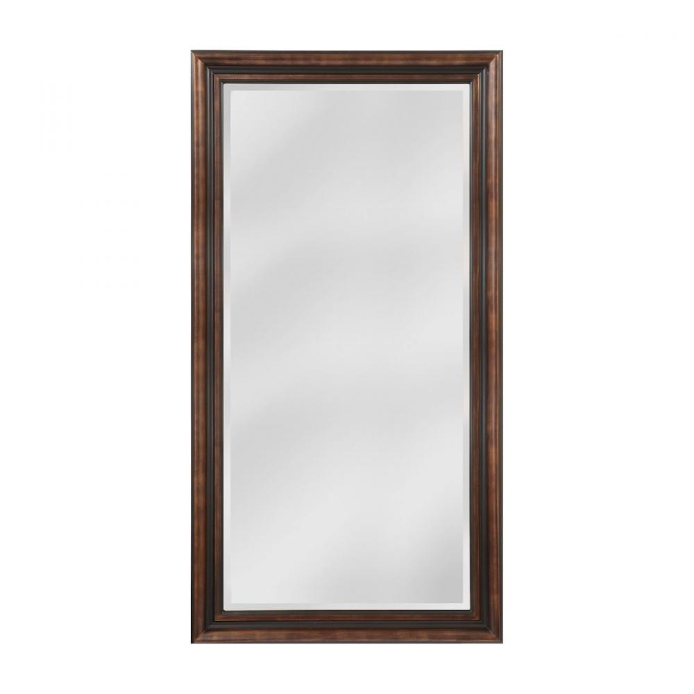 Crown Molding Pattern Wood Frame Mirror : 49TFP | Coastal Lighting ...