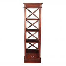 Sterling Industries 6500812 - Galloway Shelves In Mahogany Stain Finish