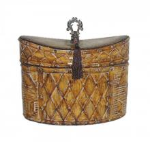 Sterling Industries 72-4242 - Sterling Harlequin And Tassel Decorative Box