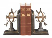 Sterling Industries 87-4496 - Pair Arrow And Sphere Bookends