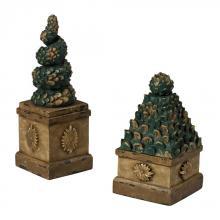 Sterling Industries 93-19316/S2 - Set Of 2 Topiary Tree Boxes