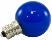 American Lighting PG30F-E12-BL - Premium Grade LED Lamp Small Globe, Candelabra base, Frosted Blue Glass, wet location and fully dimm