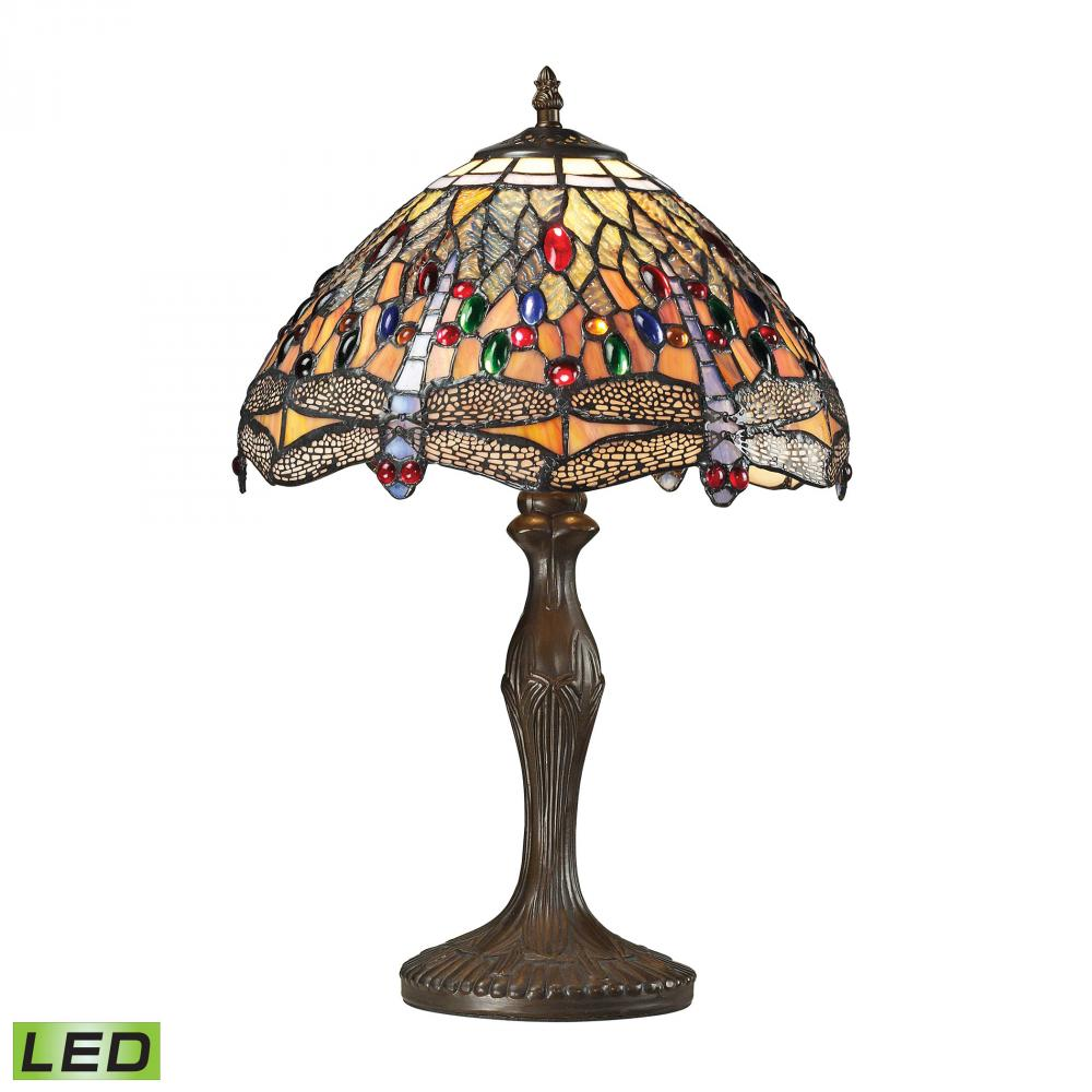 Coastal Lighting & Supply in Chesapeake, Virginia, United States,  6XWA3, Dragonfly 1 Light LED Table Lamp In Dark Bronze, Dragonfly