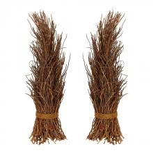 Dimond 742021/S2 - Natural Cocoa Twig Sheaf - Set of 2