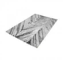 Dimond 8905-061 - Rhythm Handwoven Printed Wool Rug In Grey And Wh
