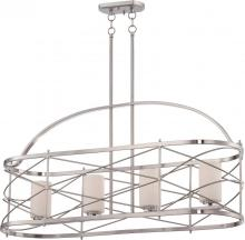 Nuvo 60/5334 - Ginger - 4 Light Island Pendant