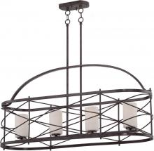 Nuvo 60/5338 - Ginger - 4 Light Island Pendant