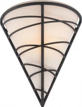 Nuvo 62/451 - Toro - 1 Light LED Wall Sconce w/ GU24 Omni LED 'A' Lamp Included