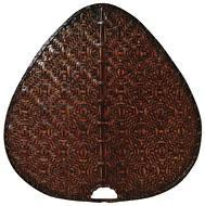 Fanimation PUD1A - Punkah Blade Set of 1 - 22 inch - Wide Oval Bamboo - A