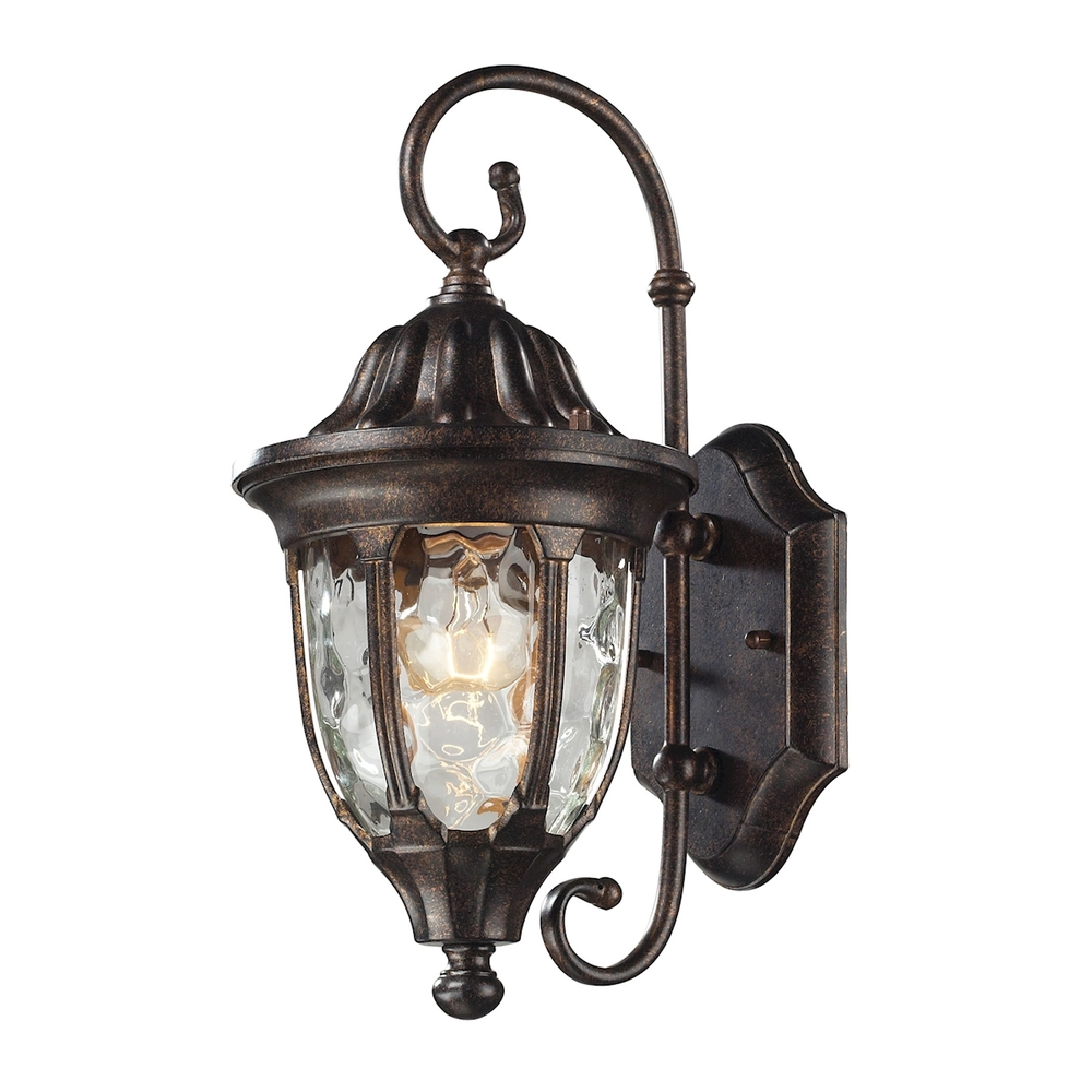 Coastal Lighting & Supply in Chesapeake, Virginia, United States,  GCA8, Glendale 1 Light Outdoor Wall Sconce In Regal Br, Glendale