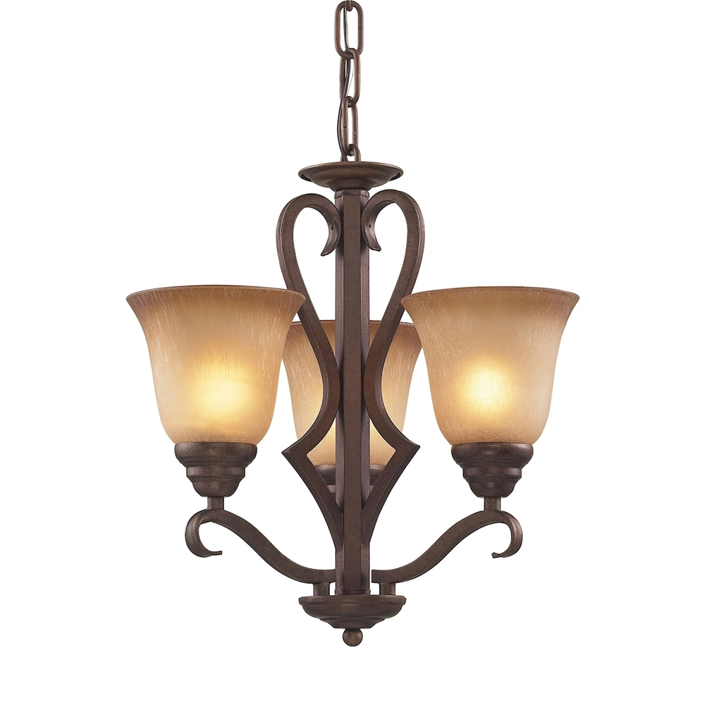 Coastal Lighting & Supply in Chesapeake, Virginia, United States,  8Z5X, Lawrenceville 3 Light Chandelier In Mocha With A, Lawrenceville