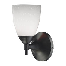 ELK Lighting 10150/1DR-WH - Celina 1 Light Sconce In Dark Rust And Simple Wh