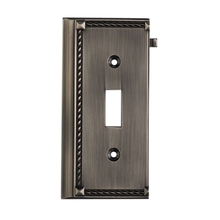 ELK Lighting 2507AP - Clickplates End Switch Plate In Antique Platinum